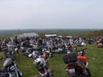 View from top of Bald Knob in S. Illinois