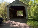 Covered bridge in Indiana