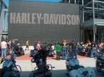 Harley museum in Milwaukee